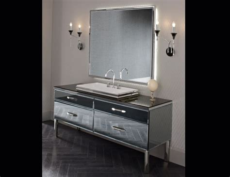 Hton Bay Bathroom Vanities Milldue 20 Smoked Lacquered Glass Luxury Italian Bathroom Vanities