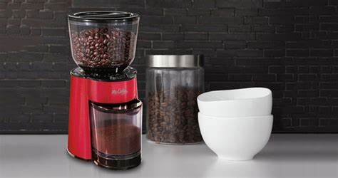 Coffee Bean Grinder Reviews Mr Coffee Bvmc Bmh23 Automatic Burr Grinder Mill Review