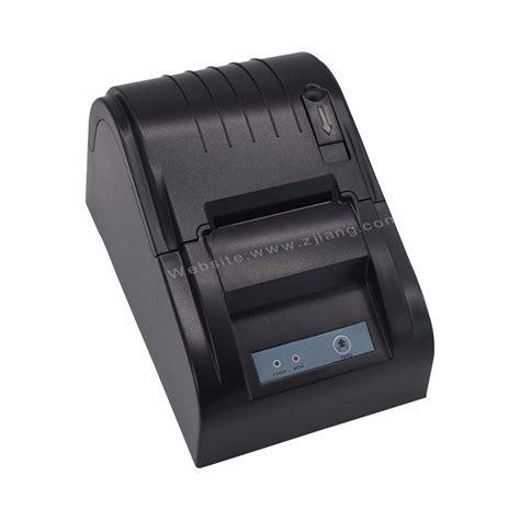 Zjiang Pos Thermal Printer 575mm Zj 5890t Black 2010 zj 5890t 58mm thermal receipt printer billing machine for