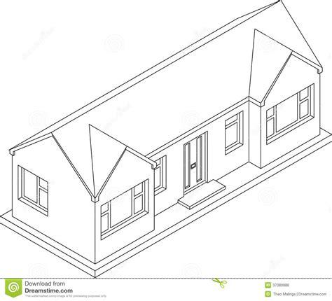 pavillon zeichnen pavillon 3d isom 233 trique illustration stock image du plan