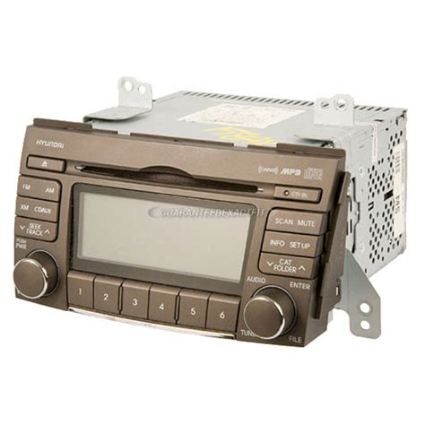 Cd Player F R Auto by Radio Or Cd Players Remanufactured For Hyundai Sonata