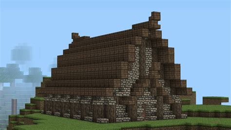 Minecraft Nordic House Great Hall Tutorial Minecraft Project