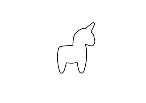 unicorn template clipart best