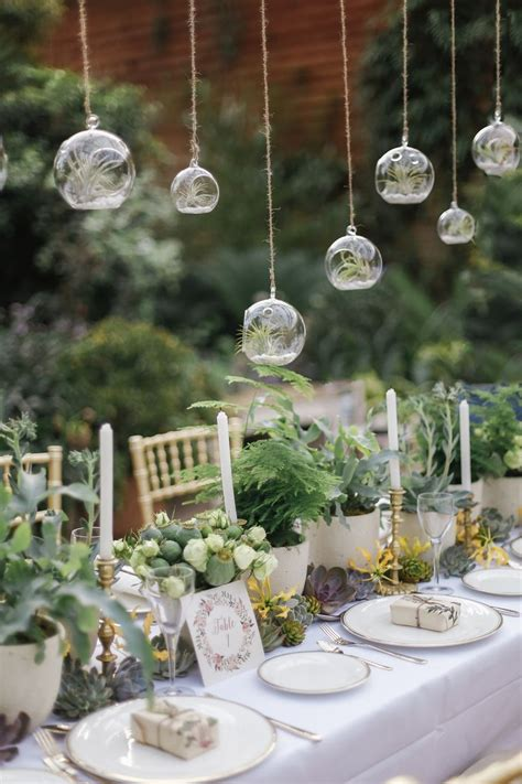 greenery wedding centerpieces green centerpieces