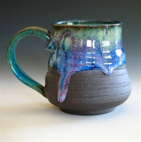 Handmade Ceramic Coffee Mugs - large coffee mug holds 20 oz handmade ceramic cup