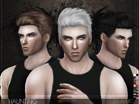 men hair sims 2 stealthic haunting male hair the sims 4 catalog