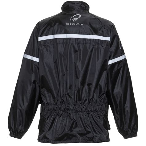 motorcycle over jacket black spectre waterproof motorcycle motorbike rain wear