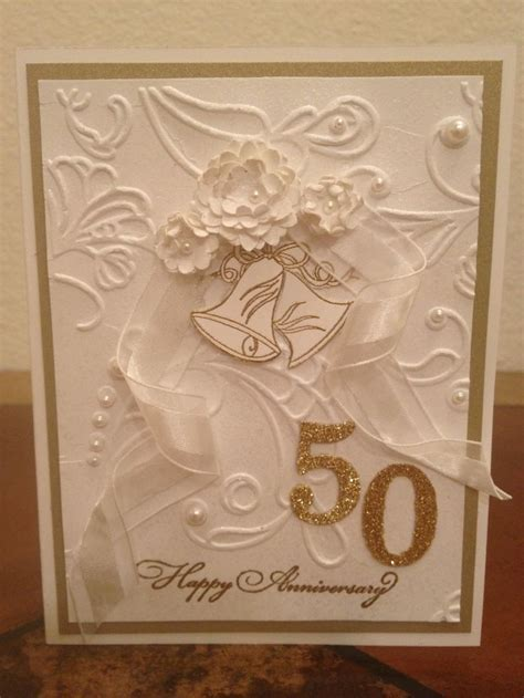 Best 25  50th anniversary cards ideas on Pinterest
