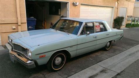 find used 1976 dodge dart sedan 4 door 3 7l slant 6 in
