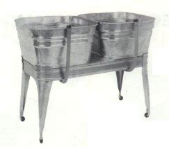 galvanized laundry sink with stand square wash tub with stand single or wisemen