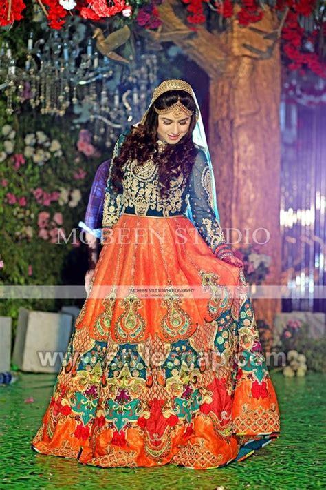 latest bridal mehndi dresses designs