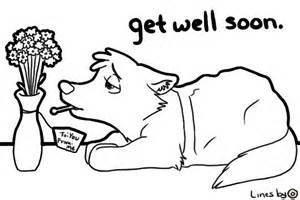get well coloring pages view topic get well soon chicken smoothie 603967