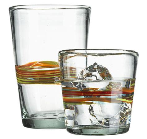 crate and barrel barware granada drinking glasses from crate barrel tools and toys