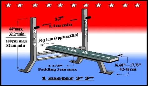 bench press bench width appropriate dimensions esp width for flat bench to use