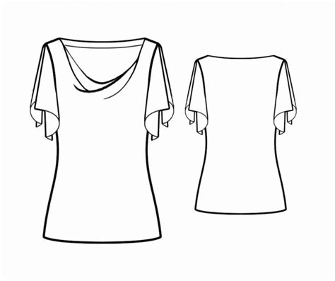 blouse with cowl neck sewing pattern 4234 made to 17 best images about atalanta on pinterest sewing