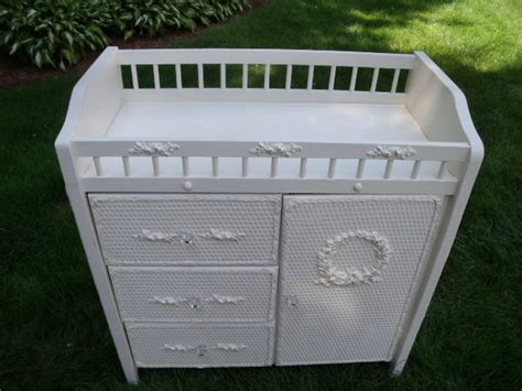 shabby chic changing table vintage changing table for baby