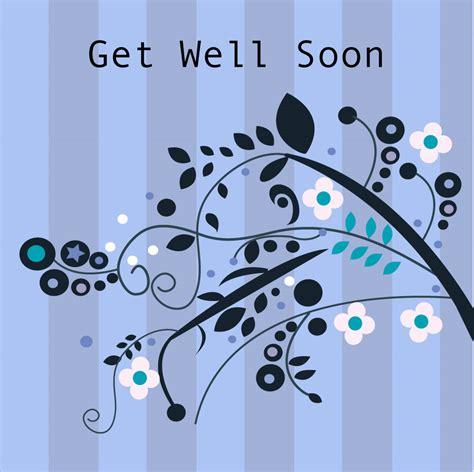 get well soon card stripes