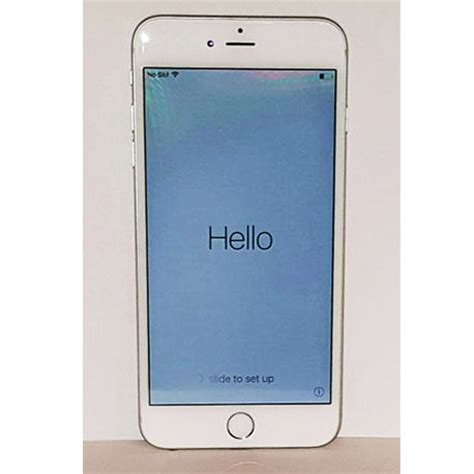 Iphone 6 16gb Silver apple iphone 6 plus silver 16gb tmobile smartphone city