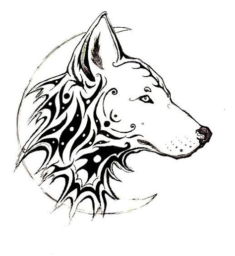 tribal wolf tattoos meaning andriaj89 wolf tattoos tribal meanings