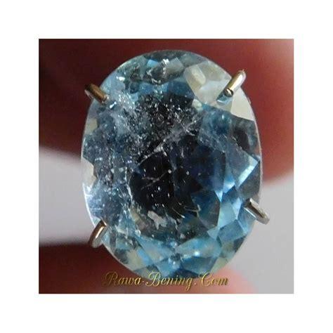 Batu Permata Topaz Sky diskon batu permata topaz oval cut biru langit 2