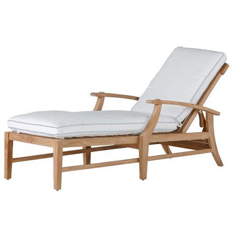 teak chaise croquet teak chaise summer classics
