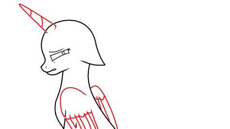 imagenes de mlp base sad sad pony base by luna dash on deviantart
