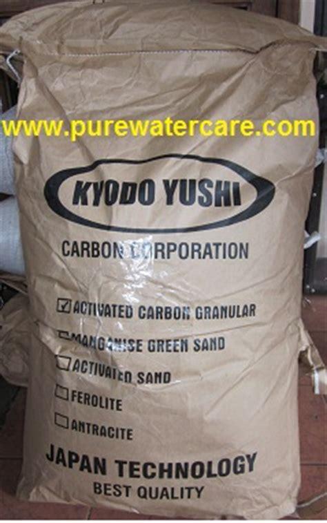 Karbon Aktif Biasa 1 Kg kemasan karbon aktif 1 sak 20 kg