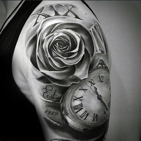 rose and clock tattoo meaning amazing tattoos meaning and ideas for a fascinating