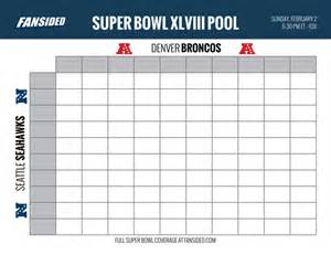 printable bowl block pool template bowl 2014 seahawks vs broncos squares office pool board