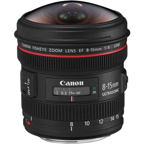 Lensa Canon Fisheye 15mm canon ef 8 15mm f4l fisheye usm lens