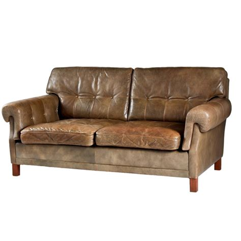 1960s Sofa by Leather Sofa By Ope M 246 Bler Sweden 1960s For Sale At 1stdibs