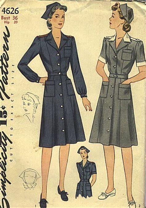 vintage nurse pattern pinterest the world s catalog of ideas