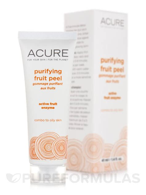 fruit enzyme peel purifying fruit peel 1 4 fl oz 41 ml