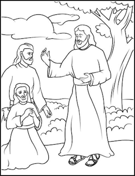 coloring pages for jesus and his disciples topics apostles disciples jesus parables materials