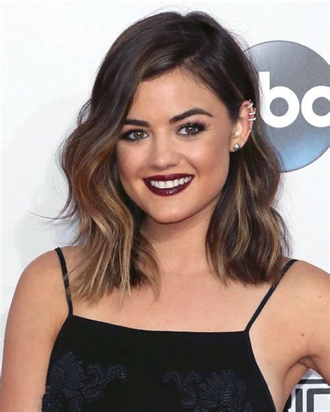 how to achieve the new haircut the lob 1000 ideas about lucy hale hairstyles on pinterest