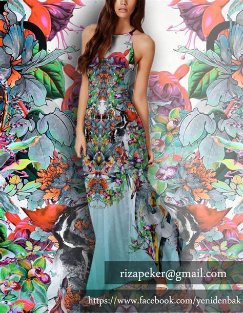 Repeat Trend Florals by Bothanical Flower Pattern 2015 2016 Autumn Desen