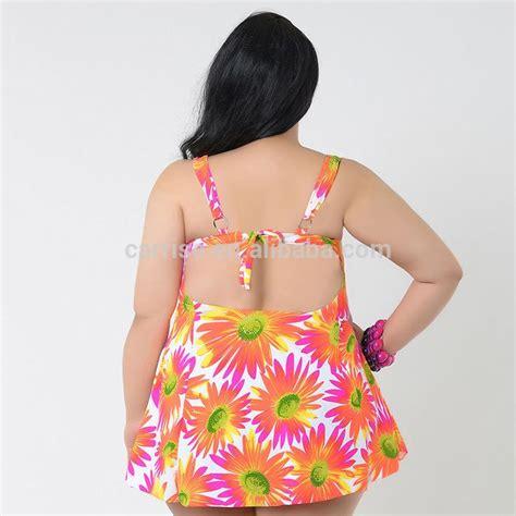 Pakaian Baju Renang Wanita Womens Speedo Fit Tankini baru ditambah ukuran pakaian renang pakaian renang wanita gemuk verano