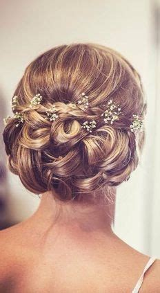 Wedding Hairstyles With Gypsophila by Of The Hairstyleshalf Up Half