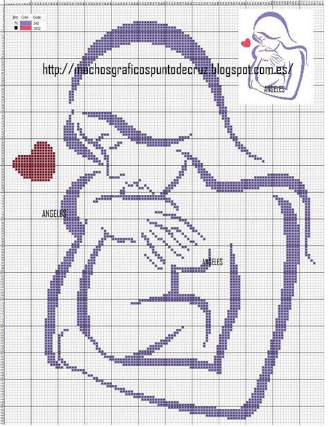 dibujos a punto de cruz de el libro de la selva de disney graficos punto de cruz gratis madre y bebe 12