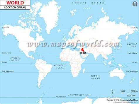 baghdad map world image gallery iraq on world map