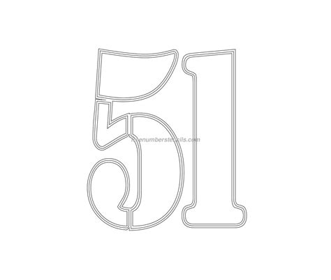 printable army number stencils free military 51 number stencil freenumberstencils com