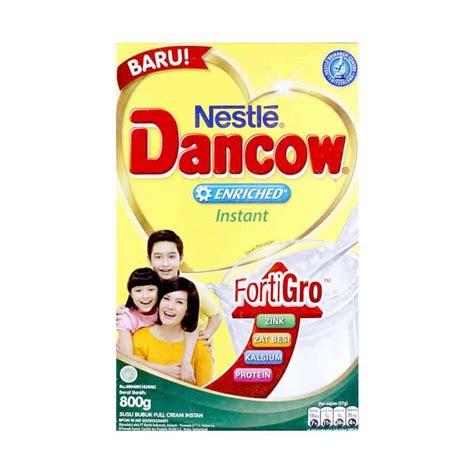 Dancow Fortigro 800 G spek harga dancow instant fortigro putih formula 800