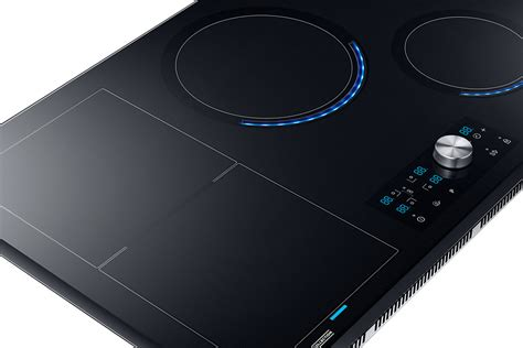 piani cottura elettrici a basso consumo samsung table 224 induction 4 foyers zone modulable 7 kw