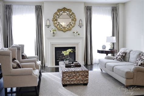 Interior Decorating Living Room Furniture Placement How To Hang Draperies Not The Dollhouse Way Classy