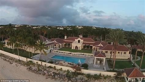 trump saint martin hurricane irma damage to trump estate revealed daily