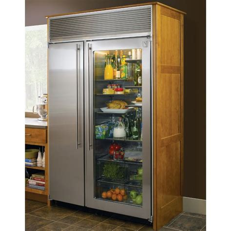 Refrigerator With Glass Doors For Homes The World S Catalog Of Ideas