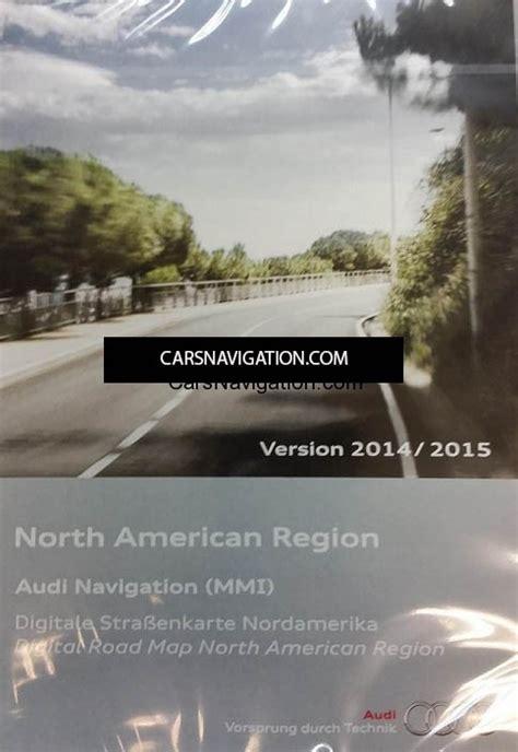 america map dvd mmi version 11 2015 audi mmi 2g navigation dvd america car