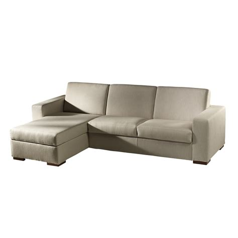 sleeper sofa with chaise lounge gray microfiber sectional sofa with armrest and chaise