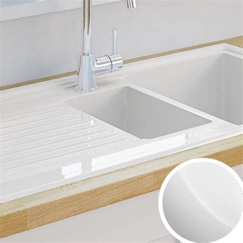 Kitchen sinks metal amp ceramic kitchen sinks diy at b amp q