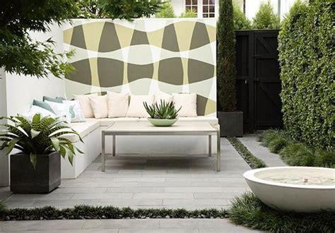 Patio Designs Modern Two Modern Patio Ideas Turning Small Backyard Designs Into